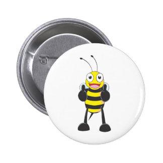 Kundenspezifische Shirts: Daumen up Bienen-Shirts Anstecknadel