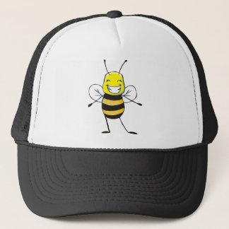 Kundenspezifische Shirts: Glückliche Bienen-Shirts Truckerkappe