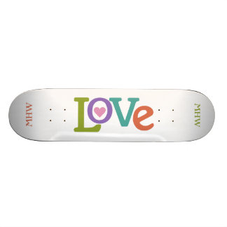 Kundenspezifische Skateboards Monogramm der bunten Individuelle Skateboards