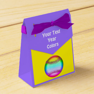 Kundenspezifische Softball-Bevorzugungs-Taschen, Geschenkschachtel