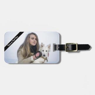 Kundenspezifische Strand-Hunde-und Kofferanhänger