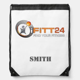 Kundenspezifische Tasche der Turnhallen-iFiTT24 Turnbeutel