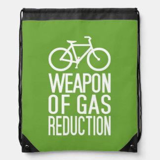 Kundenspezifische Tasche des Fahrrades Farb Turnbeutel
