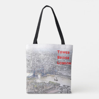 Kundenspezifische Taschen-Tasche - London-Ikonen Tasche