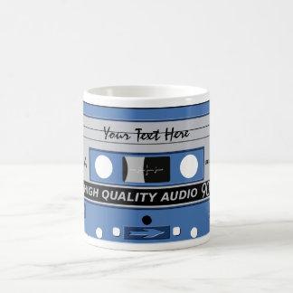 Kundenspezifische Tasse des Kassetten-Bands -
