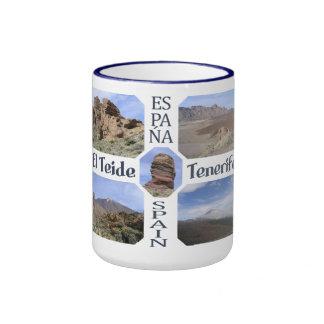 Kundenspezifische Tasse EL Teide - wählen Sie Art,