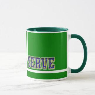 Kundenspezifische Tennis-Geschenke Tasse