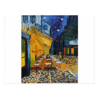 Kundenspezifische Van- Goghcafé-Terrasse-Vintage Postkarte