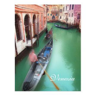 Kundenspezifische Venedig-Kanal-Postkarte Postkarte