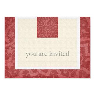 Kundenspezifische Vintage 50. Geburtstags-Party 12,7 X 17,8 Cm Einladungskarte