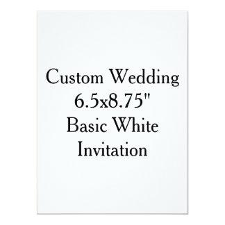 Kundenspezifische Wedding Brautparty-Einladungen 16,5 X 22,2 Cm Einladungskarte