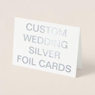 Kundenspezifische Wedding personalisierte Karten