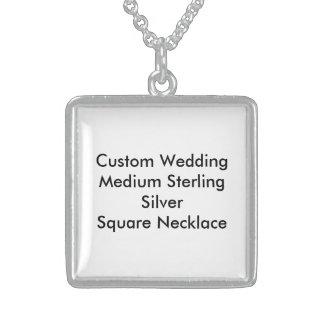 Kundenspezifische Wedding Sterling Silberkette