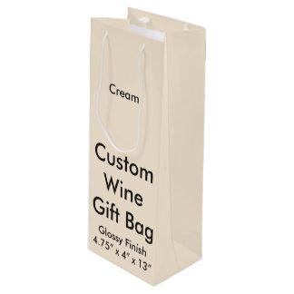Kundenspezifische Wein-Geschenk-Taschen-(glatte) Geschenktüte Für Weinflaschen