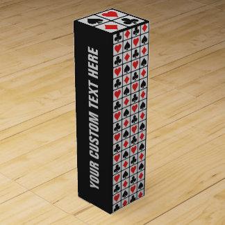 Kundenspezifische Wein-Geschenkboxen des Wein-Geschenkverpackung