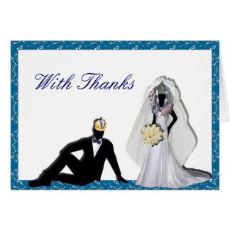 Kundenspezifische Widerstand Imperials Hochzeit Karte