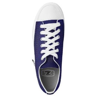 Kundenspezifische Zipz niedrige Spitzenschuhe, BBW Niedrig-geschnittene Sneaker