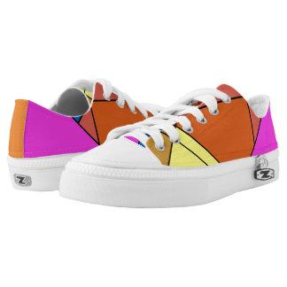 Kundenspezifische Zipz niedrige Spitzenschuhe, Niedrig-geschnittene Sneaker