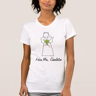 Kundenspezifische zukünftige Frau T-shirt