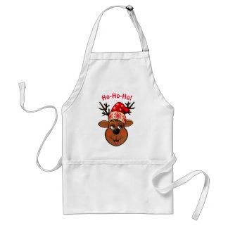 Kundenspezifischen Weihnachtsmanns Ren Schürze