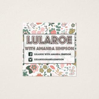 Kundenspezifischer Auftrag für Amanda Simpson Quadratische Visitenkarte