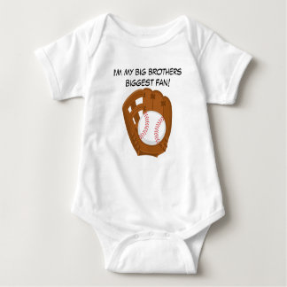 Kundenspezifischer Baseball-Baby-Jersey-Bodysuit Baby Strampler