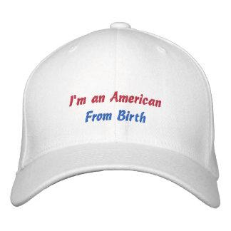 Kundenspezifischer Baseballmütze-Amerikaner von Bestickte Caps