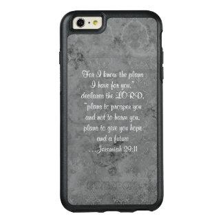 Kundenspezifischer Bibel-Vers-Telefon-Kasten OtterBox iPhone 6/6s Plus Hülle