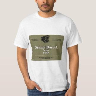 Kundenspezifischer Bieraufkleber T-Shirt
