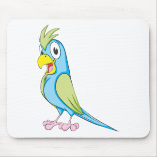 Kundenspezifischer bunter Papagei Mauspad