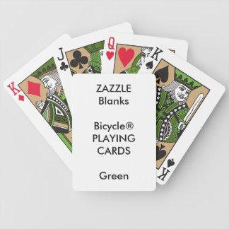 Kundenspezifischer Druck Bicycle® GRÜN Bicycle Spielkarten