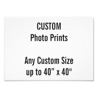 Kundenspezifischer Druck-BRITISCHE Rahmen-Größe Fotodruck