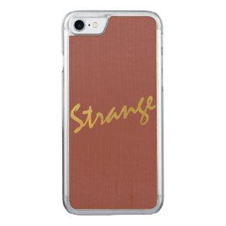 Kundenspezifischer dünner Ahorn-Apple iPhone 7 Carved iPhone 8/7 Hülle