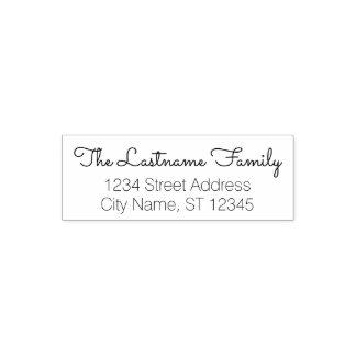 Kundenspezifischer Familienname und Permastempel