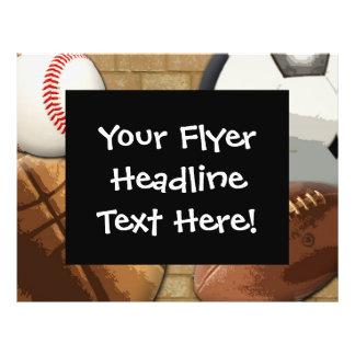 Kundenspezifischer Flyer, Sport-Thema 21,6 X 27,9 Cm Flyer