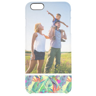 Kundenspezifischer FotoWatercolor Humminbirds im Durchsichtige iPhone 6 Plus Hülle