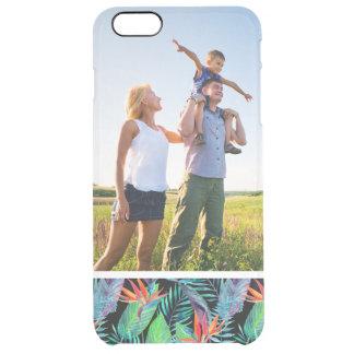 Kundenspezifischer Fotowatercolor-Paradiesvogel Durchsichtige iPhone 6 Plus Hülle
