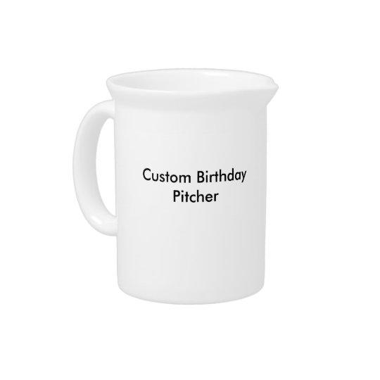 Kundenspezifischer Geburtstags-Krug Krug