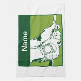 Kundenspezifischer Golfspieler Handtuch