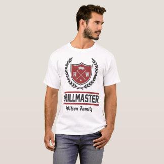 kundenspezifischer Grillmeister T-Shirt