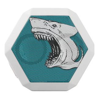 Kundenspezifischer Haifisch Boombot REX tragbarer Weiße Bluetooth Lautsprecher