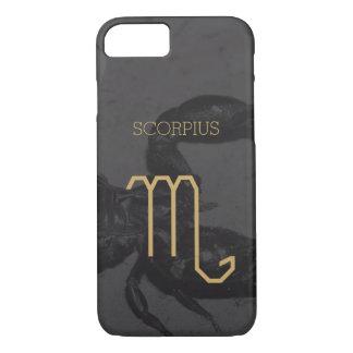Kundenspezifischer Hintergrund des Scorpius iPhone 8/7 Hülle