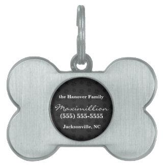 Kundenspezifischer Hundetatzen-Druck-noble Tiermarke