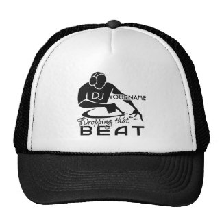 Kundenspezifischer Hut DJ - wählen Sie Farbe Retro Cap