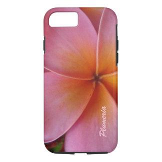 Kundenspezifischer iPhone 7 Fallrosa Plumeria iPhone 7 Hülle