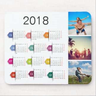 Kundenspezifischer Kalender der Instagram Mauspad