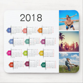 Kundenspezifischer Kalender der Instagram Mousepad