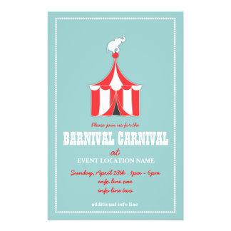 KUNDENSPEZIFISCHER Karnevals-Ereignis-Flyer
