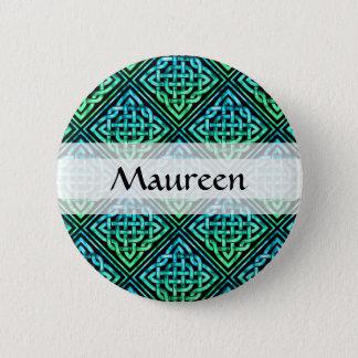 Kundenspezifischer keltischer Knoten - Runder Button 5,7 Cm