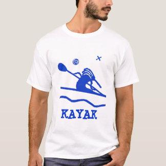 Kundenspezifischer Kokopelli Kajak-T - Shirt